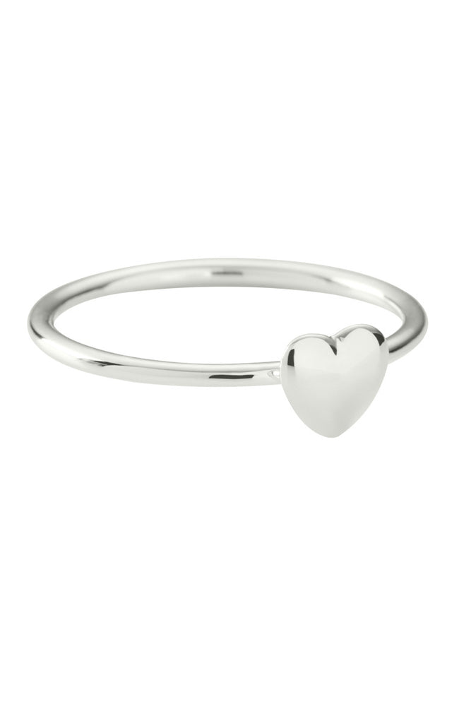 Solid Heart Ring
