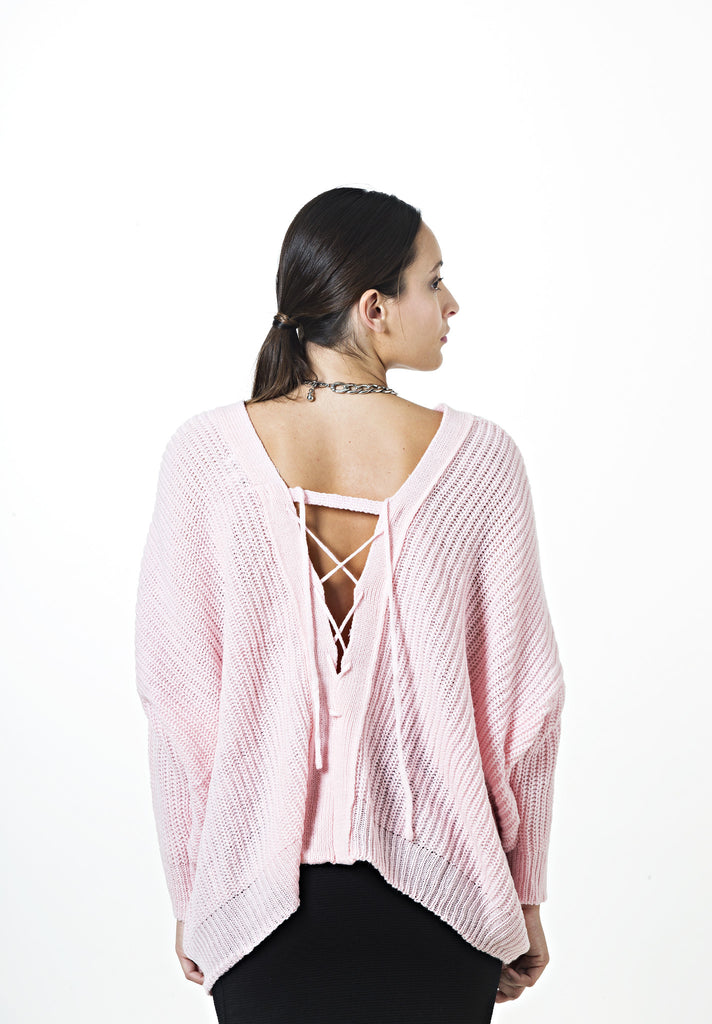 Stacey Tie Back Knit