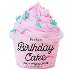 Birthday Cake Body Wash Vanilla May Boutique