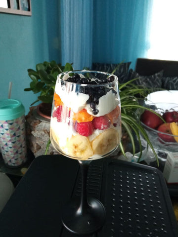 fruit birthday cake for one year olds
