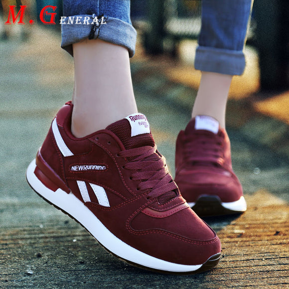 Low Top Women's Sneakers Breathable Mesh Running Shoes for Women Lace Up Platform Sports Shoes New Autumn Women's Sport Shoe B21