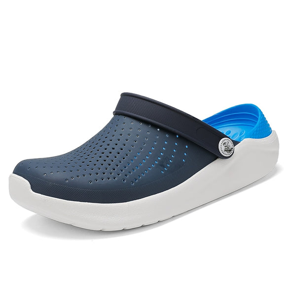 Women's Summer Sandals for Beach Sports 2020 Women Men's Slip-on Shoes Slippers Female Male Clogs Crocks Crocse Water Mules