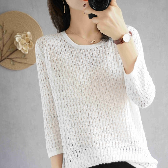 Women's O-neck cashmere sweater Women's pullovers Women's pullovers Autumn and winter women's sweaters Sweaters O-neck sweaters