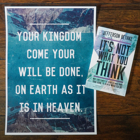 It's Not What You Think Book + Poster Bundle