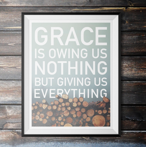 Grace Is Poster