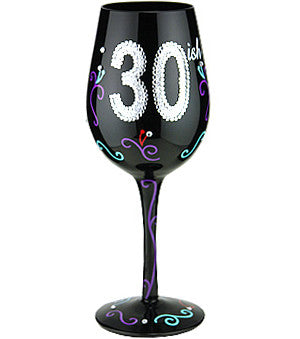 """30ish"" - Wine Glass"