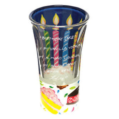 Birthday Cake Shot Glass
