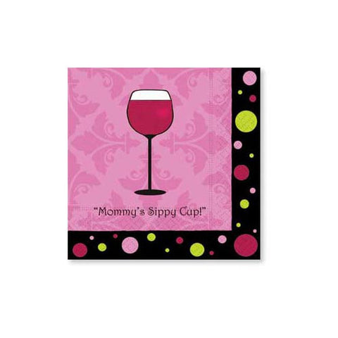 Mommy's Sippy Cup - Napkins
