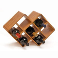 8 Bottle Bamboo - Wine Rack