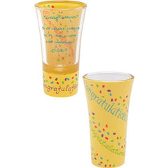 Congratulations Shot Glass