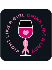 Fight Like a Girl - Coaster