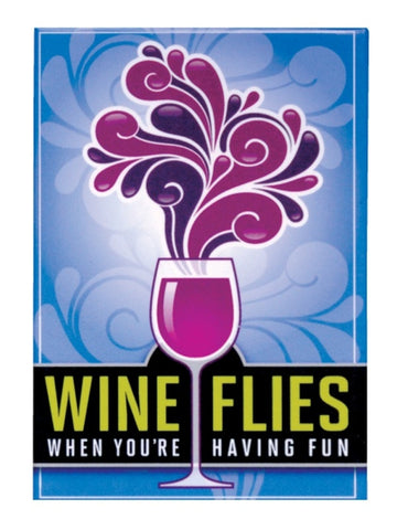 Wine Flies - Magnet
