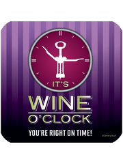 Wine O'Clock - Coaster