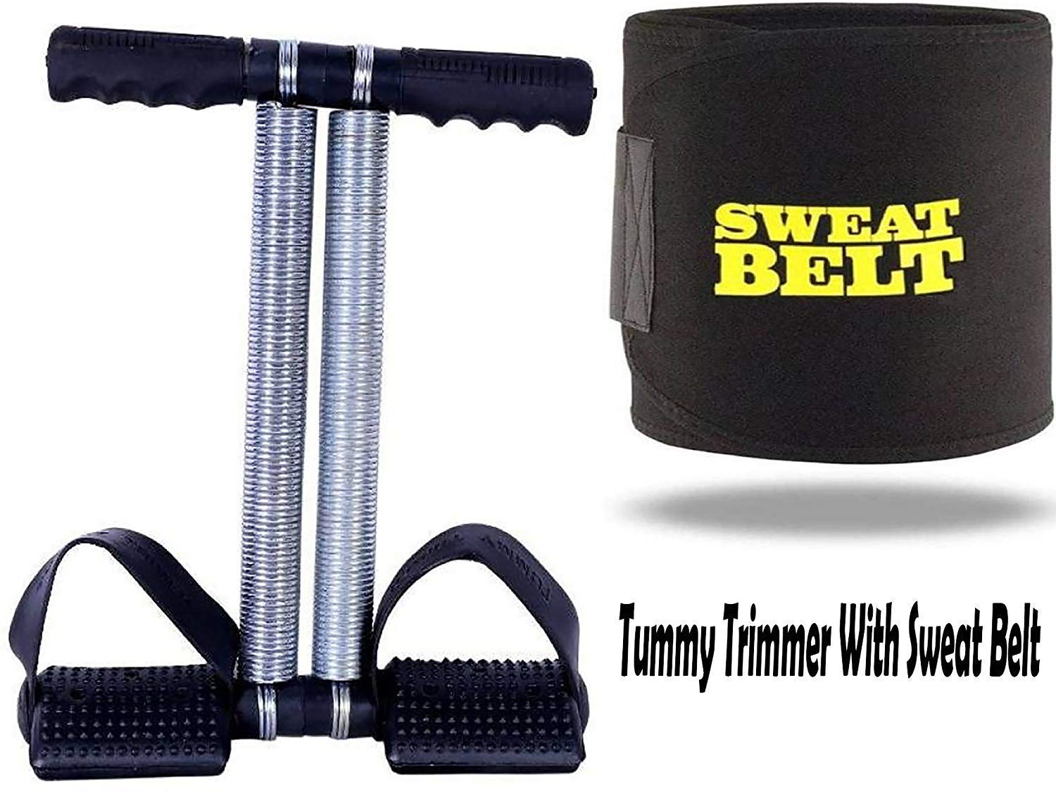Tummy Trimmer with Sweat Belt (Combo Offer)