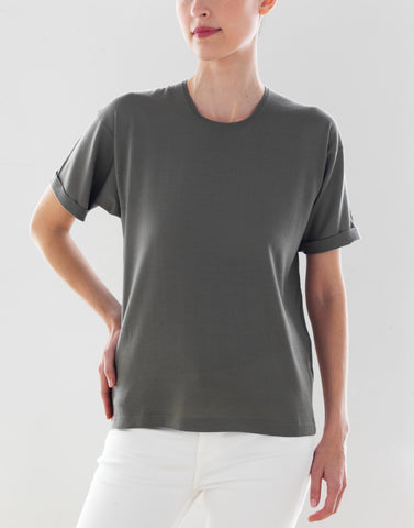 Luxo Knit T Round Neck - Army