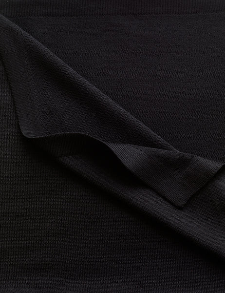 Australian Superfine Merino Wrap Colour - Black