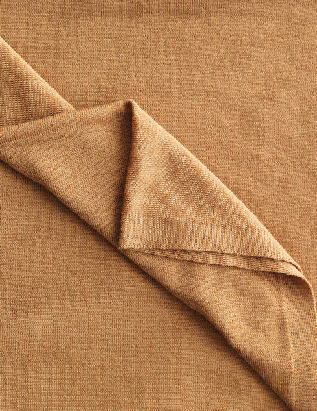 Australian Superfine Merino Wrap Colour - Camel