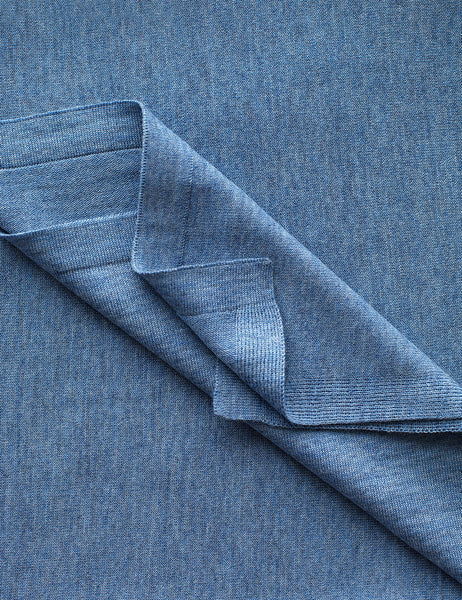 Australian Superfine Merino Wrap Colour - Chambray