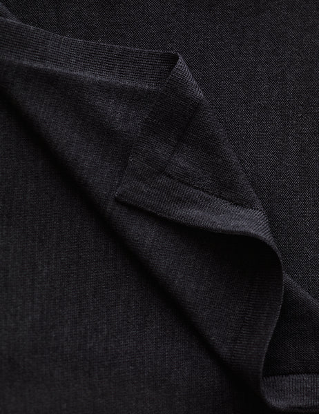 Australian Superfine Merino Wrap Colour - Dark Charcoal