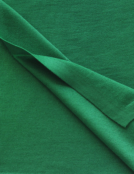 Australian Superfine Merino Wrap - Emerald