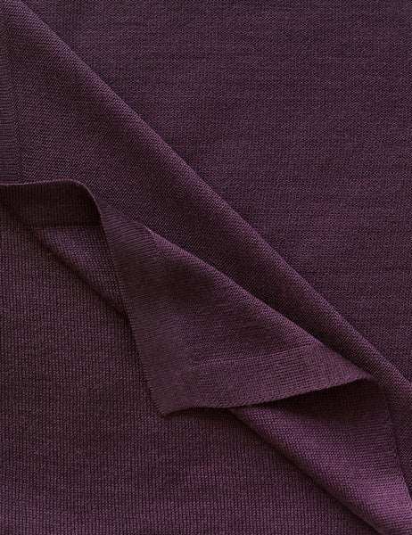 Australian Superfine Merino Wrap Colour - Italian Plum