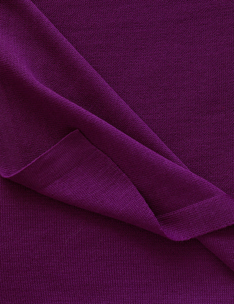 Australian Superfine Merino Wrap Colour - Magenta