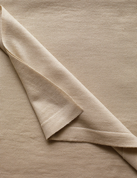 Australian Superfine Merino Wrap Colour - Sand