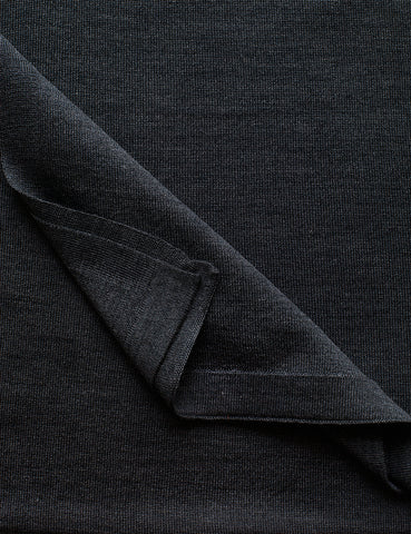 Australian Superfine Merino Wrap - Silk Charcoal
