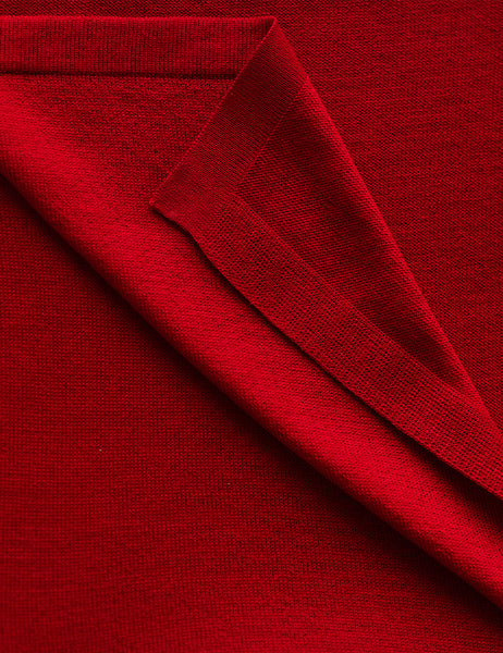 Australian Superfine Merino Wrap Colour - Silk Rosso