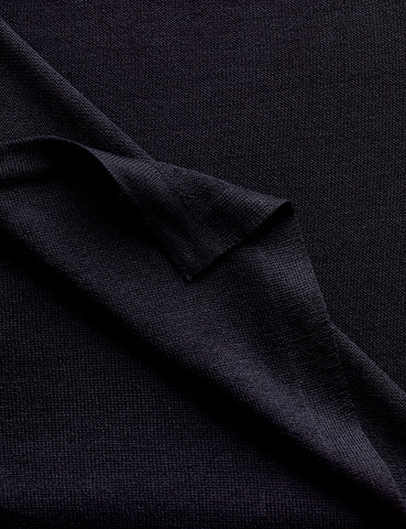 Australian Superfine Silk Merino Wrap - Black