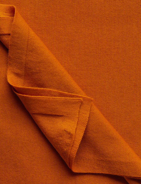 Australian Superfine Merino Wrap Colour - Tangerine