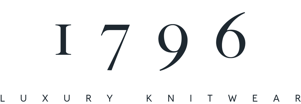 1796 Luxury Knitwear logo