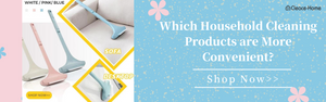 Which Household Cleaning Products are More Convenient?