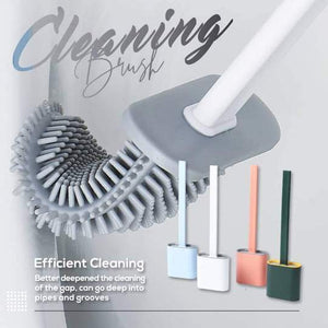 Bathroom Toilet Cleaning Brush And Holder Set