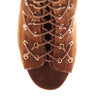 ASHE HIGH - TAN NUBUCK LEATHER BOOT