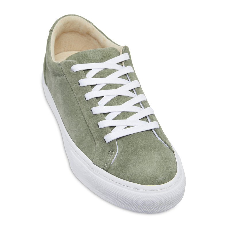 BAILY - OLIVE SUEDE
