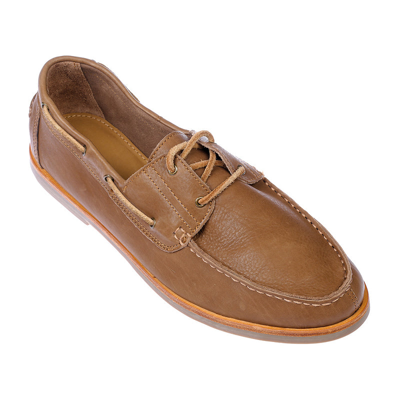 Billi tan leather boat shoes for men1