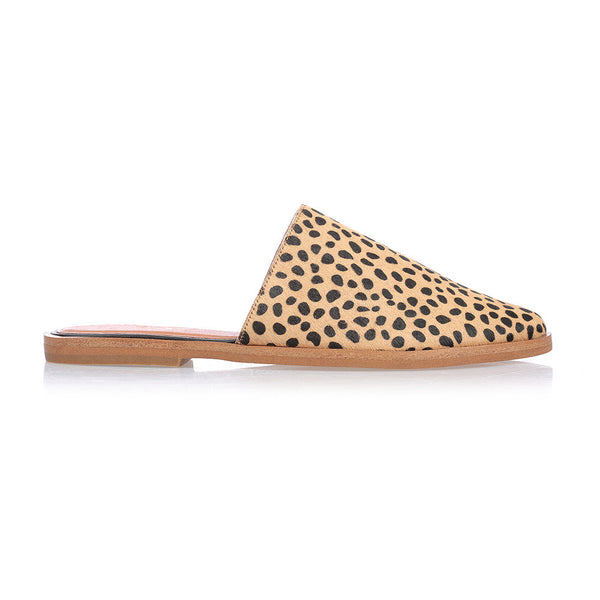 BLISS - TAN CHEETAH FLAT