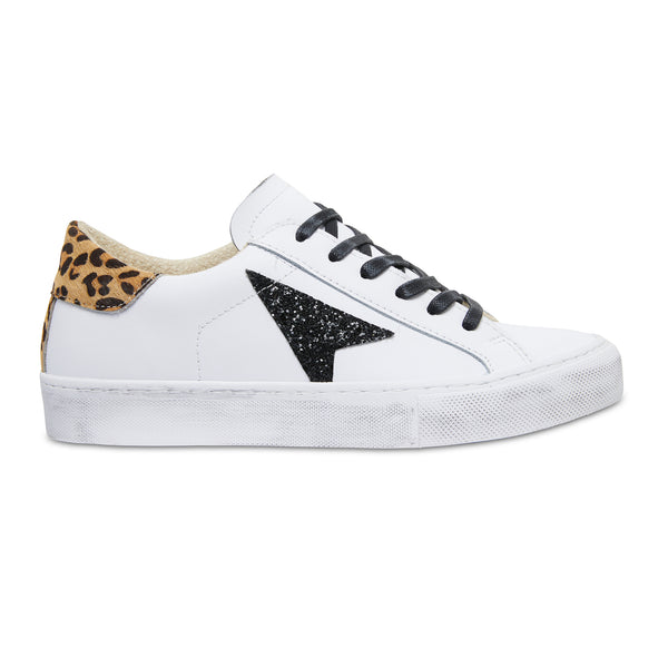 BONNI - WHITE/BLACK/LEOPARD