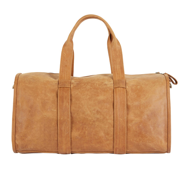 BARTIN BARREL BAG - MOCHA VINTAGE