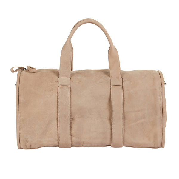 BARTIN BARREL BAG - PUTTY