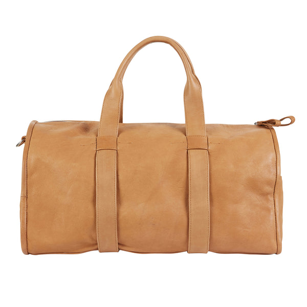 BARTIN BARREL BAG - TAN