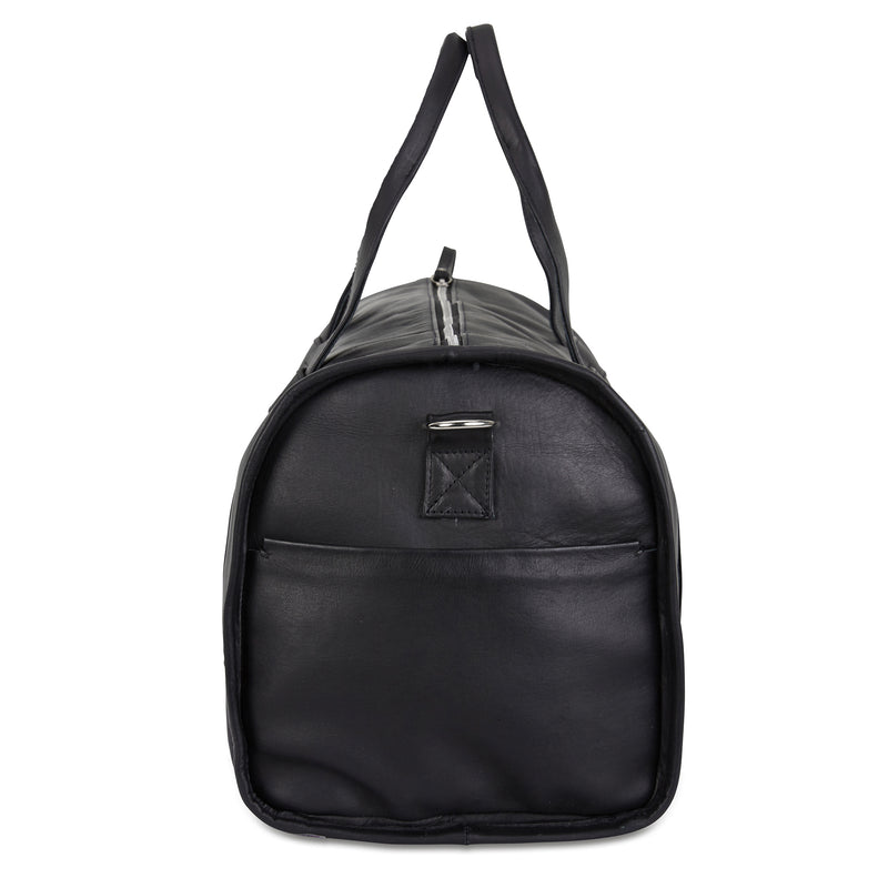 BARTIN BARREL BAG - BLACK