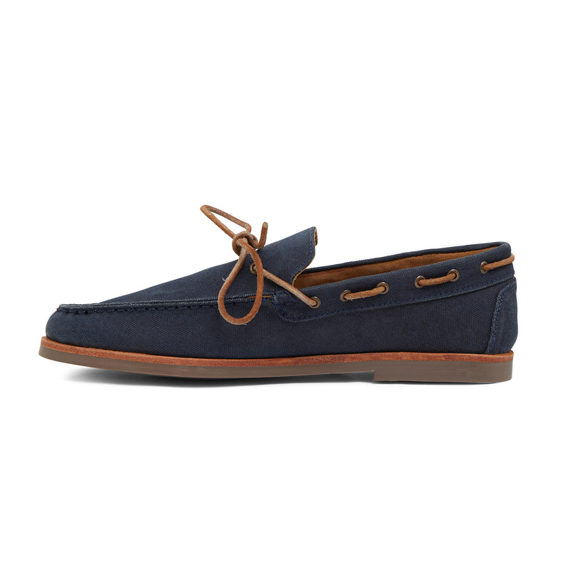 BEVAN - NAVY CANVAS