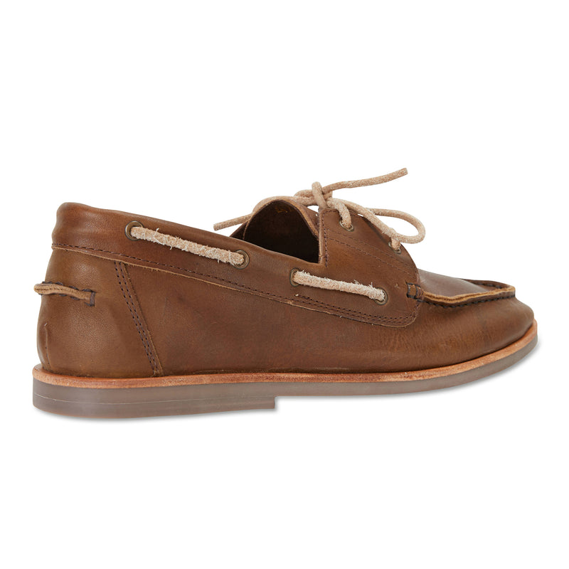 Billi espresso leather boat shoes for men2