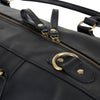 BOGATA LUGGAGE BAG - BLACK SOFT MILLED