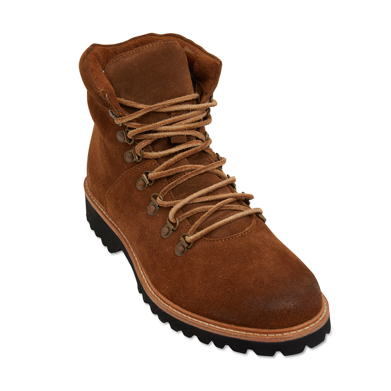Cape cognac suede winter boots for men 1
