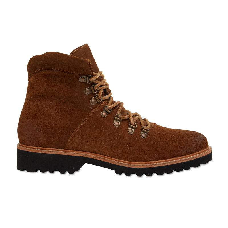 Cape cognac suede winter boots for men