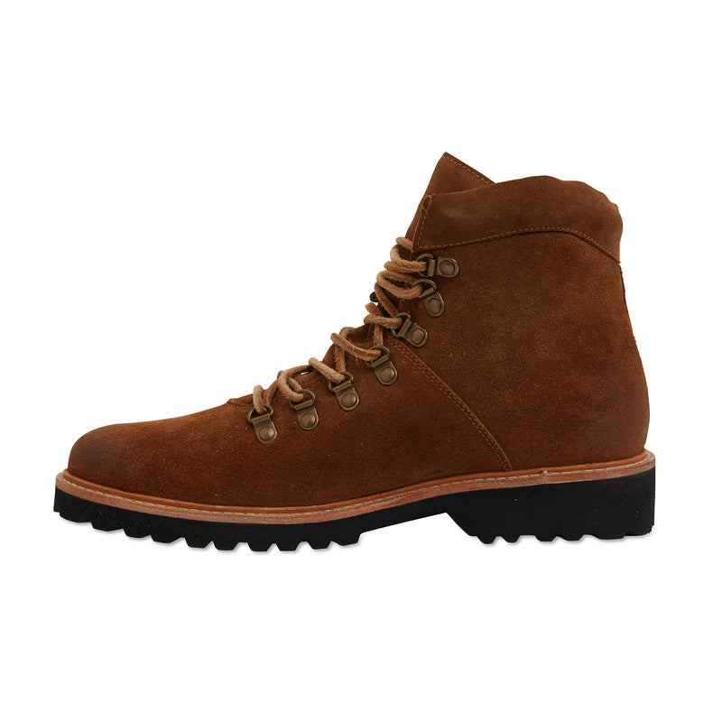 Cape cognac suede winter boots for men 3