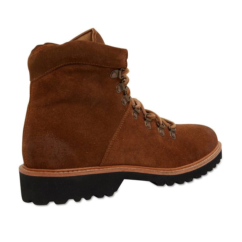 Cape cognac suede winter boots for men 4